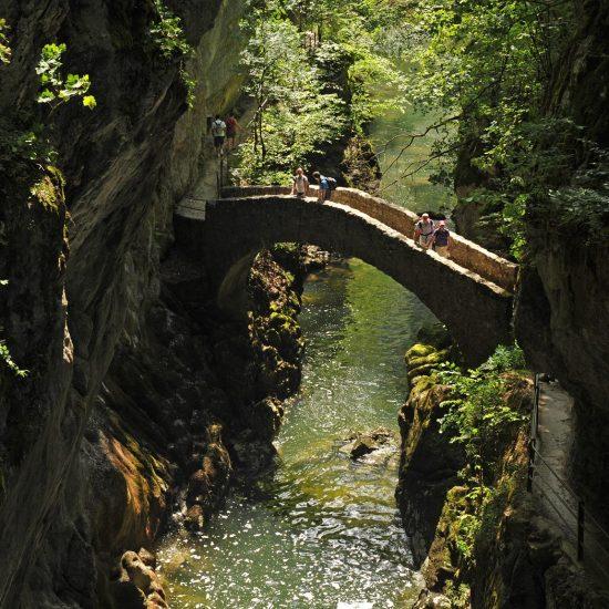 Val-de-Travers in Switzerland (Gorges de l'Areuse)